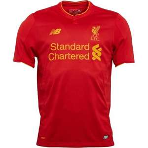 Liverpool 2016/17 shirt £24.99 M&MDirect (+£4.49 Delivery = £29.48)