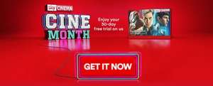 Free Sky Cinema trial with Virgin Media