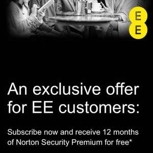 Free Norton security for a year for EE Customers, then 29.99 if you don't cancel