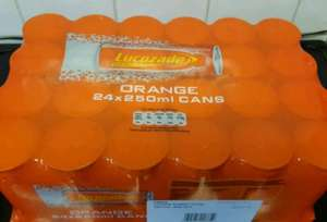 24 cans 250ml orange lucozade - £5 instore @ ASDA