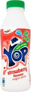 Yoplait Yop Yogurt Drink - Raspberry / Strawberry (500g) was £1.00 now 50p @ Tesco