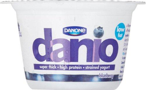 Danone Danio Low Fat Strained Yogurt - Blueberry (150g) was 85p now 50p @ Tesco