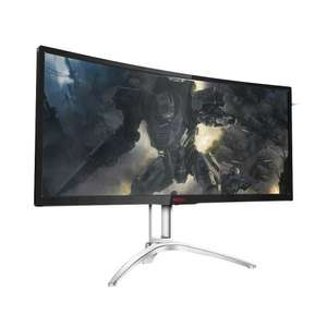 *Pre-order* AOC AG352UCG 35-Inch Widescreen MVA LED Multimedia Curved Monitor 3440x1440 / 100Hz / G-SYNC £719.99 @ Amazon Prime