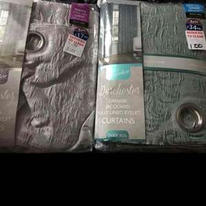 Demask Curtains @ Doncaster B&M £1 instore
