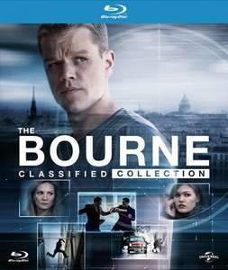The Bourne Classified Collection (Digibook) [Blu-ray] £9.99 @ Hmv in store (£11.99 online incl del / free Click Collect / free del over £10)