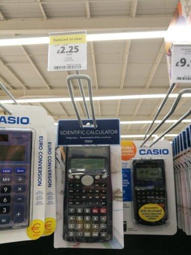 scientific calculator £2.25 Instore @ Tesco Hamilton Leicester