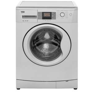 Beko Washing Machine, WMB81243LS, 8KG Load, with 1200rpm - Silver £211.20 (with code) @ Tesco