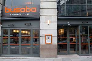 Busaba eaThai restaurant Manchester closes down Monday 3 April - free drinks and canapés 6-10pm