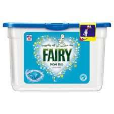 Fairy Non Bio Pods Washing Capsules 38 Washes @ Tesco £7 (instore & online)