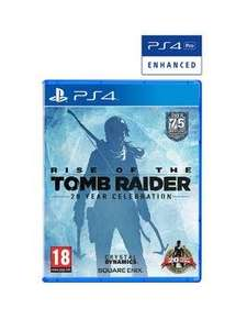 Rise of the Tomb Raider PS4 - £21.99 @ Very