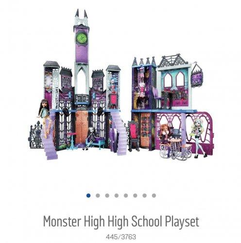 Monster High high school. Half price at Argos - £74.99