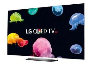 "LG OLED55B6V 55"" OLED HDR 4K TV - with LG SH7 Soundbar and 5yr warranty @ Crampton & Moore - £1798.99"