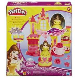 Play-Doh Disney Princess Belle's Blooming Castle £5 (was £9.99) @ Smyths
