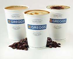 Free hot drink when signing up to Gregg's Rewards