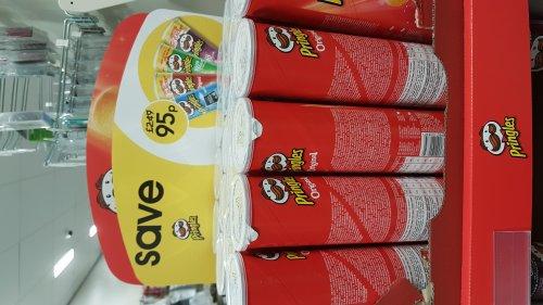 Pringles for 95p instore @ Wilko