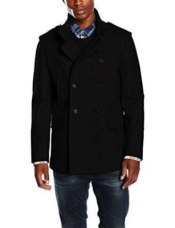 New Look Men's Military Wool Coat - £14.60 (Prime / £19.35 non Prime) @ Amazon