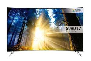 Samsung UE55KS7500 55 Inch Curved SUHD 4K Ultra HD HDR Quantum Dot Smart TV with Freeview HD/Freesat HD & Playstation Now - £949.94 Sold by Tvsandmore and Fulfilled by Amazon (Lightning Deal)