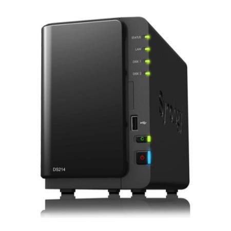 Synology 214 4TB (2x2TB) NAS Drive £73.72 @ Amazon