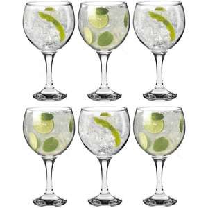 Glassware clearance @ Rinkit - e.g. Gin Glasses set of 6 £9.29 / crystal tumblers x 4 £5.99