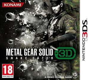 Metal Gear Solid Snake Eater 3D (3DS) £12.55 (Prime) £14.54 (Non-prime) Delivered @ Sold by GAMES PLAY and Fulfilled by Amazon