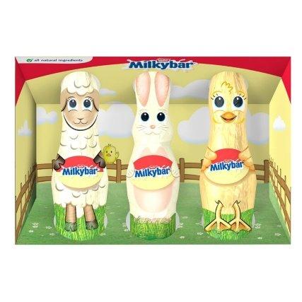 Nestle Milkybar Easter Friends 3 x 21g 59p instore @ Heron