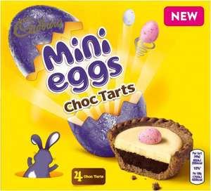 Cadbury Flake / Caramel/ Crunchie/ Mini Eggs Chocolate Tarts 4pk £1.00 @ Asda