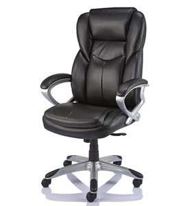 chairs chair bonded black cbs asset leather office staples giuseppe executive