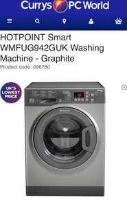 Hotpoint 9kg washing machine for £199.20 @ Currys