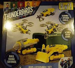 Thunderbirds pod 5 in 1 set £6.99 @ Home Bargains Thurrock