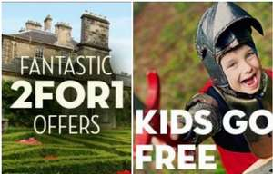 Scotrail-2FOR1 OFFERS & Kids go FREE at attractions with purchase of train ticket incl Easter hols