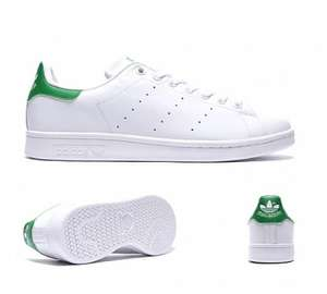 Adidas Stan Smith White Green £52.68 with delivery and a pair of laces. d86ab0916ba