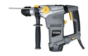 Titan SDS Plus Drill with drill bit combi set £44 (with code CLUBD86S4) @B&Q