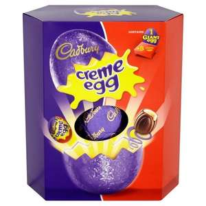Giant cadburys creme egg £4.50 Amazon prime members amazon pantry £2.99 delivery