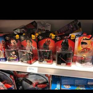 Disney infinity figures £2.99 Home Bargains