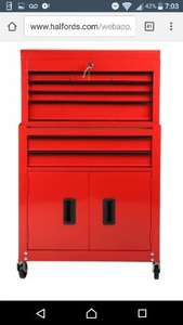 Halfords - 8 drawer tool centrewas £150. NOW £63.75