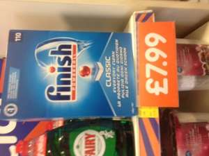 Finish Powerball Classic 110's £7.99 instore at B&M's