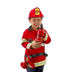 Melissa & Doug Fire Chief Role Play Costume Dress-Up Set (6 pcs) 10.50 Amazon prime exclusive (or John Lewis for non prime members)