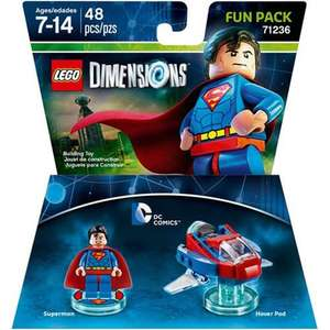 3 for 2 on Lego Dimensions Team, Level, Fun AND STORY packs at Toys R Us