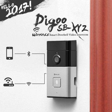 Digoo SB-XYZ Wireless Bluetooth and WIFI Smart Home HD Video DoorBell Camera Phone Ring £29.20 Banggood