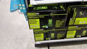 Power It Pressure Washer  1500W £39 at Asda Instore