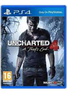 Uncharted 4: A Thief's End (PS4) £18.49 @ Base