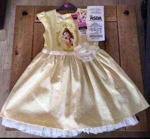 ASDA Disney Princess Belle Beauty & The Beast Dress £5 instore