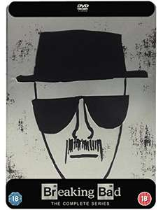 Breaking Bad Complete Collectors Tin (DVD) £14.99 For members @ HMV - Plymouth