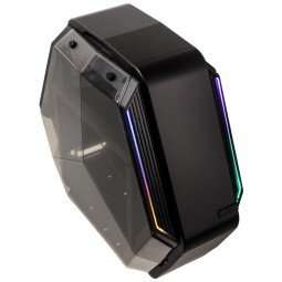 Kolink K6T futuristic mATX RGB Case Now £19.99 Was £49.99 / £30.49 delivered @ Overclockers