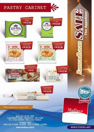 Mullaco Supermarket sale