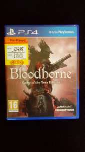 Bloodborne PS4 Game of the Year edition - preowned £10 Smyths Toys