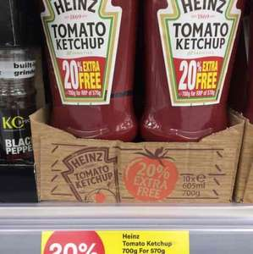 700g Heinz Tomato Ketchup £1.59 @ Iceland
