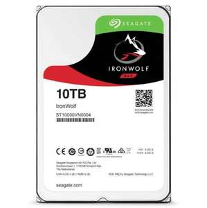 Seagate Ironwolf 10TB Nas Hard Drive £336.77 @ ebuyer