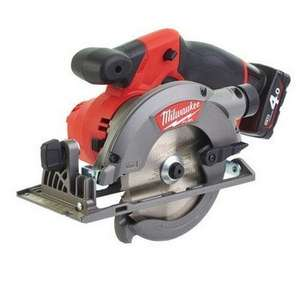Milwaukee M12CCS44 Circular Saw kit with THREE batteries £227.96 @ Anglia Tool Centre