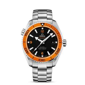 Omega Seamaster Planet Ocean Big Size Chronometer With Orange Bezel - £3155 @ Brown's Family Jewellers